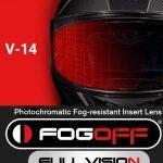 FOGOFF FOG003 LAMINA ANTI-VAHO FOTOCROMÁTICA PARA MT-V-14