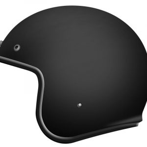 CASCO MT OF507SV LE MANS 2 SV SOLID A1 NEGRO MATE XS