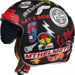 CASCO MT OF507SV LE MANS 2 SV ANARCHY A1 NEGRO MATE XS