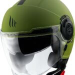 CASCO MT OF502SV VIALE SV SOLID A6 VERDE MATE XS